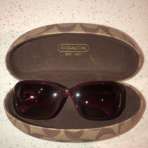 AUTHENTIC COACH SUNGLASSES-Lexi with case